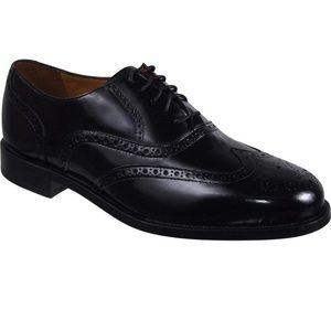 Cole Haan Connolly Wingtip Oxford black leather 8